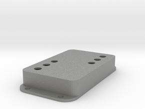 Strat PU Cover, Double Wide, WR-SQ in Gray Professional Plastic