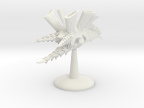 Hive Cruiser v2 in White Natural Versatile Plastic