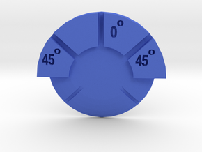Starship Turn Dial in Blue Processed Versatile Plastic