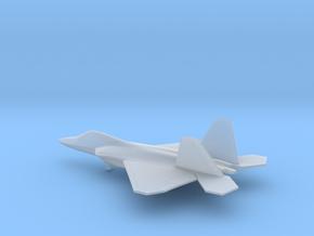 Lockheed Martin F-22 Raptor in Smooth Fine Detail Plastic: 6mm