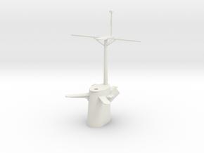 1/72 Brook Mast in White Natural Versatile Plastic