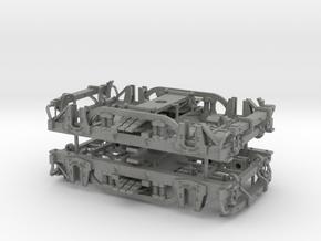 Carter Passenger Car Trucks, On3, 1 Pair in Gray Professional Plastic
