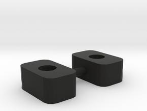 RCRP 005.1 Mugen MGT 7 Eco Unterlage Chassisverste in Black Natural Versatile Plastic: 1:8