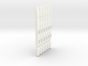 AMM-101 (6-Pack) in White Processed Versatile Plastic