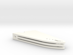 Snackbar Mod v3 Top in White Processed Versatile Plastic
