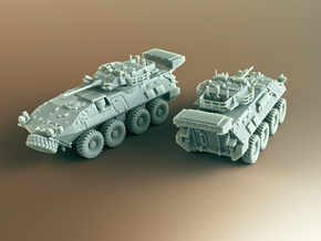 LAV III Kodiak ICV Scale: 1:100 in Smooth Fine Detail Plastic