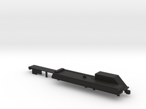 Quad Axle Semi Chassis Cover in Black Natural Versatile Plastic