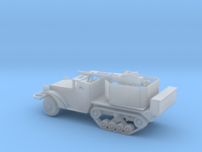 1/144 Scale M3 HalfTrack with 40mm AA Gun in Smooth Fine Detail Plastic