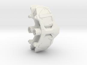 PS4 Web Shooter in White Premium Versatile Plastic