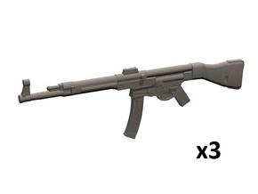 1/12 scale StG-44 in White Processed Versatile Plastic