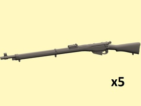 1/24 Lee Enfield Mk1 rifle in Smoothest Fine Detail Plastic