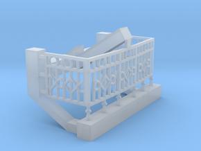 Gunnison parlor end railing in Smoothest Fine Detail Plastic
