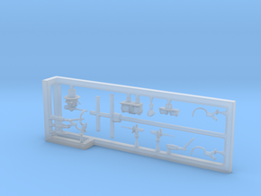 1/700 Minesweeper HMS Bramble Fittings in Smooth Fine Detail Plastic