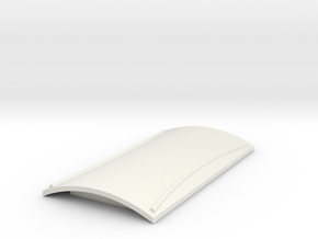 Roof for goods van & brake van (Type2) in White Natural Versatile Plastic
