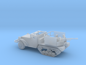 1/160 Scale M15A1 HalfTrack with 37mm AA Gun in Smooth Fine Detail Plastic