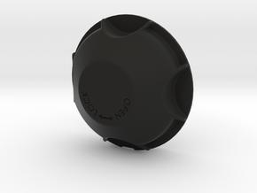 Yamaha Super Tenere deep headlamp cover in Black Natural Versatile Plastic