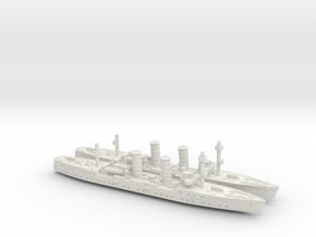 Dalmacija 1/1250 x2 in White Natural Versatile Plastic