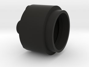 "3/4"" Blade Plug Part 1 in Black Premium Versatile Plastic"