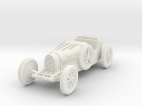 1/72 Bugatti type 35 in White Natural Versatile Plastic
