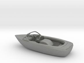 TT motorboat 1:120 scale in Gray PA12