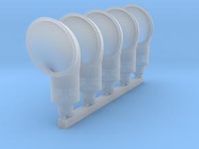 6.35mm Cowl Ventilator - 5ea in Smoothest Fine Detail Plastic