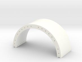Betonhalbschale WKA 1:87 in White Processed Versatile Plastic