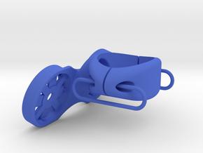 Dual Garmin 31.6 Seat Post Mount in Blue Processed Versatile Plastic