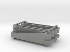 Tamiya Thundershot D2 parts (x4) in Gray Professional Plastic