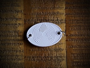 7 Circuit Labyrinth Aromatherapy Convertible Penda in Natural Sandstone