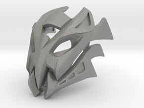 Great Mask of Incomprehension (Makuta) in Gray PA12