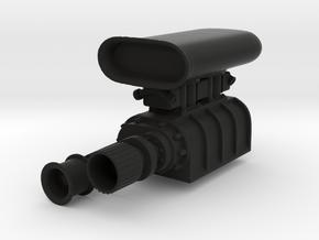 Roots Compressor - Type 3- 1/10 in Black Natural Versatile Plastic