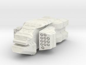 """""""Brigand"""" Missile Corvette in White Natural Versatile Plastic"""