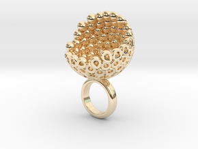 Coconto 2  in 14k Gold Plated Brass
