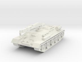 T34 T ARV tank scale 1/100 in White Natural Versatile Plastic