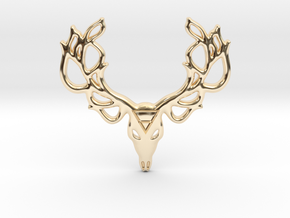 Mythological Elements - Leshy (Earth) in 14k Gold Plated Brass