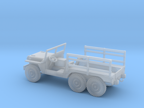 1/72 Scale 6x6 Jeep MT Cargo in Smooth Fine Detail Plastic