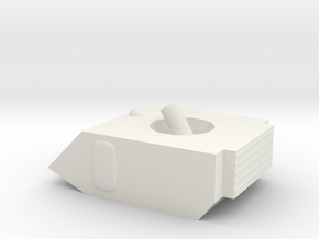 Vixen Small Grav Mortar 1:64 25mm in White Natural Versatile Plastic