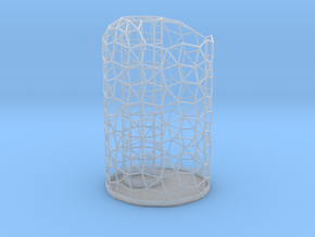 Toothbrush Holder in Smooth Fine Detail Plastic