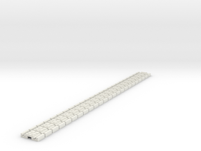 p-9stw-slim-flexi-tram-track-100-x24-1a in White Natural Versatile Plastic