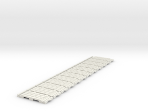 p-32st-slim-flexi-straight-x12-100-1a in White Natural Versatile Plastic