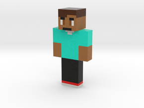 IllegalDuckee | Minecraft toy in Natural Full Color Sandstone