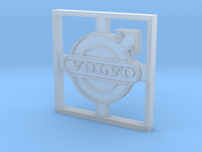 Volvo F88/F89 emblem in Smooth Fine Detail Plastic