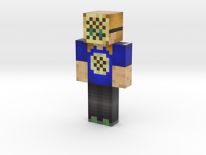 Crumpet Girl | Minecraft toy in Natural Full Color Sandstone