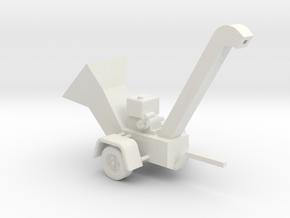 WoodChipper-Pro HO 87:1 Scale in White Natural Versatile Plastic