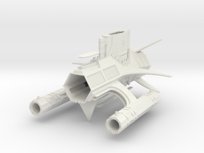 1/10 000 Object 296 in White Natural Versatile Plastic