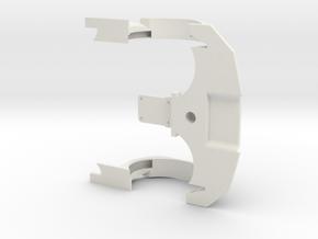 FR02 FR02 Formula E Front End in White Natural Versatile Plastic