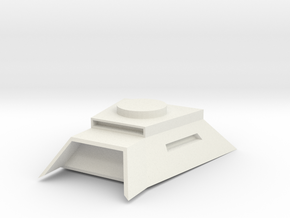 heavy turret bunker mount in White Natural Versatile Plastic