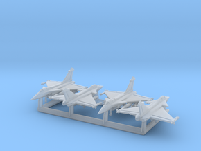 Rafale C/M with Gear x4 (FUD) in Smooth Fine Detail Plastic: 1:600