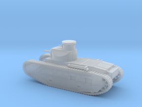 1/144 Scale M1921 Medium Tank in Smooth Fine Detail Plastic