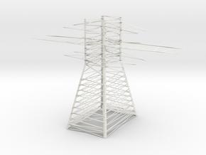 Line Electro Base  in White Natural Versatile Plastic
